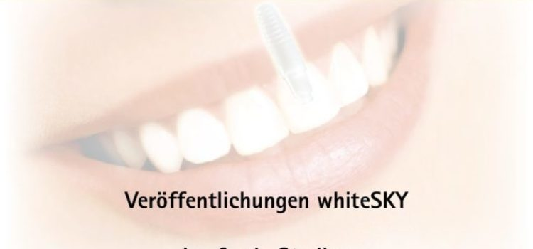 Studie zu Zirkonimplantate whiteSKY in der Implantologie.