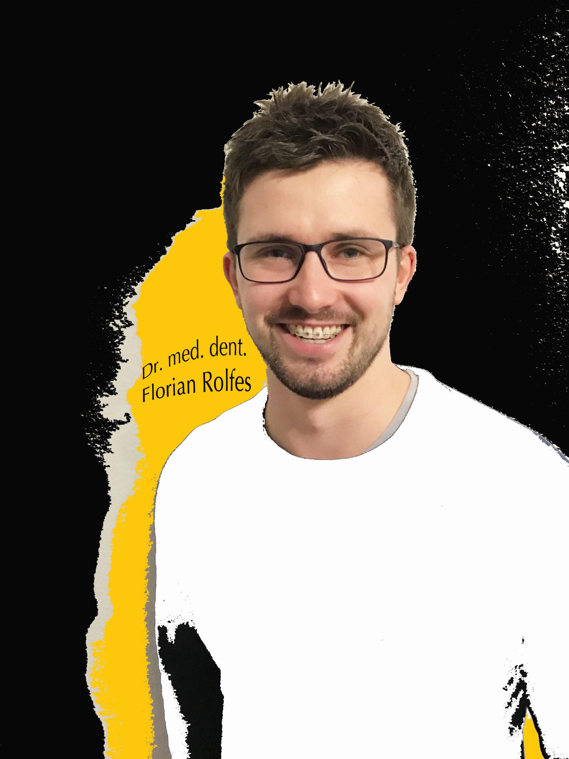 Dr. med. dent Florian Rolfes behandelt bei Patienten von ALL DENTE kieferorthopädische Fehlstellungen.